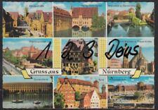 1066Q)  Ansichtskarte  AK   Nürnberg     Gruss aus Nürnberg   9 Motive