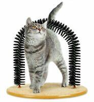 Kratzbogen Enthaarungsbogen Fellpflegebogen Massagebogen Katzenminze Spielzeug