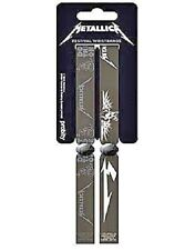 METALLICA black logos 2015 - FESTIVAL WRISTBAND SET - official - no longer made