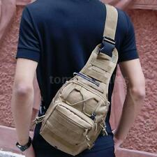 Earth Color Outdoor Tactical Waist Pack Shoulder Bag Camping Hiking Pouch Bag