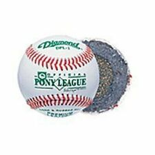 Dpl Diamond Pony League Cushioned Cork Center Baseballs 1 Doz Tournament Grade