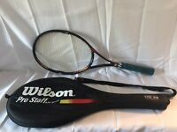 Wilson Pro Staff Stretch Very Rare Tennis Racket 6.1 With Sports Case