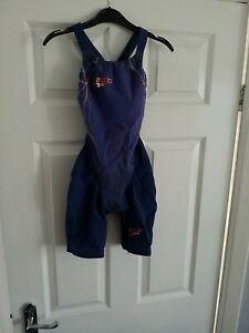Speedo Fina approved Racing  Swim Skin junior Size 22  Used In Great Condition