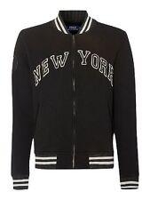 Polo RALPH LAUREN black NEW YORK fleece JACKET sweater! NWT! AUTHENTIC! L
