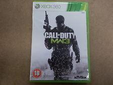 Xbox 360 PAL jeu Call of duty modern warfare 3 avec boite instructions