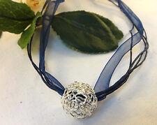 Versilberte runde Modeschmuck-Halsketten & -Anhänger für besondere Anlässe