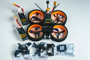 Diatone Taycan FPV Cinewhoop, R-XSR receiver, 3x tattu batteries and more