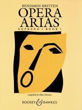 Opera Arias Soprano - Book 1 Voice NEW 048008484
