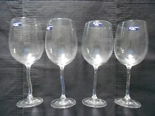 Leonardo Crystal Wine Glass New with Labels Set of 4 very unique stem Germany