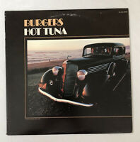 Burgers Hot Tuna Grunt Records ALYL 1-3951 Water Song Jorma Kaukonen Jack Casady