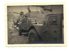 WW2 french vintage military photographie / Panhard AML 178 / may/june 1940