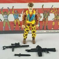 Original 1993 GI JOE LEATHERNECK V3 ARAH not complete UNBROKEN figure Cobra