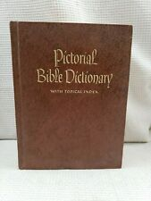 Pictorial Bible Dictionary Zondervan 1974 The Southwestern Company Vintage
