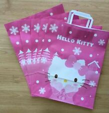 Sanrio Hello Kitty Holiday 2014 5pc Paper Gift Shopping  Bags