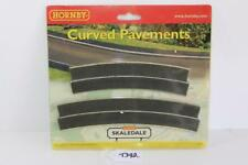 Hornby OO 1:76 R8663 Curved Pavements 2 x Outer & 2 x Inner Used  FNQHobbys T392