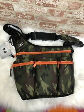 NWT DIAPER DUDE CAMO BAG CAMOUFLAGE CROSSBODY MESSENGER TRAVEL BABY BAG