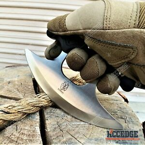 6.75 INCH FULL TANG ULU FIXED BLADE KNIFE CHEF KNIFE TACTICAL KNIFE COOKING