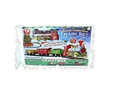 PMS Christmas Express Train Set Battery Operated with Realistic Sound and Lights