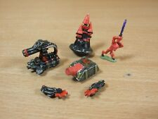 4 CLASSIC METAL WARHAMMER EPIC CHAOS MODELS PAINTED SOLD AS SEEN (1961)