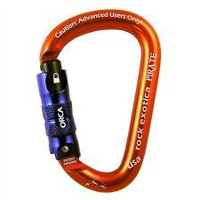 Rock Exotica Pirate ORCA-Lock Carabiner C1O Is also nonlocker Advanced UsersOnly