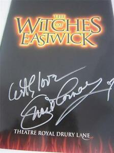 Witches Eastwick London 2000 Program & Ticket Starring Signed Lucie COA Lucille