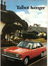 Talbot Avenger LS GL GLS Estate 1980-81 Original UK Sales Brochure No C9593