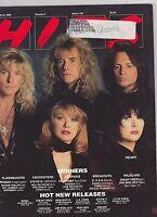 JULY 9 1990 HITS vintage music magazine - HEART