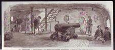 1871  --  LES PONTONS   L ENTRE PONT  LA GARDE DES INSURGES PRISONNIERS  S296