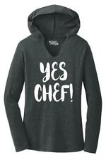 Ladies Yes Chef Hoodie Shirt Dad Mom Wife