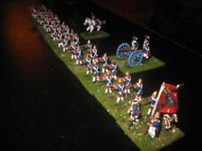 40 Painted 1/72 Revolutionary War Hessian Fusilier Infantry Regiment w Artillery