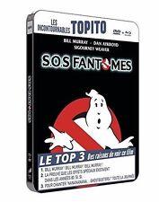 "SOS FANTOMES ""EDITION STEELBOOK COLLECTOR"" - BLURAY + DVD - NEUF SOUS BLISTER"