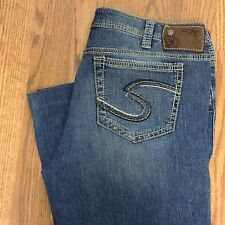 Silver Jeans 32 Women's Flare Pica Hemmed Size 32X29