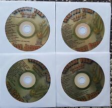 4 CDGS COUNTRY GOLD KARAOKE BRAD PAISLEY,JIMMY BUFFETT,ALAN JACKSON,TIM MCGRAW