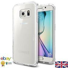 Samsung Galaxy S7 Edge Ultra Sottile Gel TRASPARENTE MORBIDA IN SILICONE CASE COVER