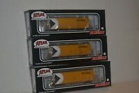 3 Atlas CP Rail 40' Plug Door Box Car Ho Scale 20003498, 3499, 3500