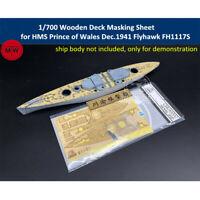 Hunter 1//700 HMS Naiad deck masking sheet for FLYHAWK FH1112 M700004
