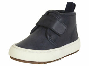 Polo Ralph Lauren Toddler Boy's Chett-EZ Navy Burnished Boots Shoes