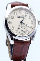 Rare Men's Auguste Reymond Unitas 6498 17 Jewels Swiss Made Wind Up Wrist Watch