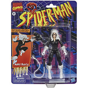 Marvel Legends BLACK CAT Figure Spider-Man Retro Hasbro 2021 X-Men Avengers MCU