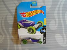 2017 K-Mart- Hot Wheels ''X-Raycers&#03 9;' = Hi-Roller = Purple & Chrome us