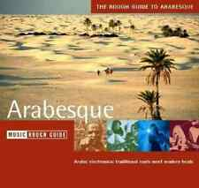 """THE ROUGH GUIDE TO ARABESQUE"" (CD 2002) Arabic Electronica 12-Tracks EXCELLENT"