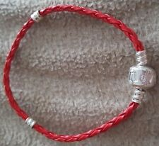 BRAIDED LEATHER CHAINS FOR EUROPEAN STYLE CHARM BRACELETS BRAND NEW