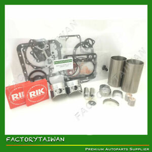 Engine Overhaul Rebuild Kit for Kubota Z482 (T1600H Tractor) - Customizable