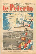 Alger Président Édouard Daladier Congrès Eucharistique Algérie WWII 1939