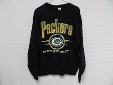 vtg Green Bay Packers Sweatshirt 90s NFL crewneck OG XXL black Competitor 50/50
