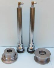 """Lowrider Hydraulics 16"""" chrome cylinders powerball, deep reverse cup donut combo"""