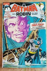 Batman #234 VF+-VF/NM High grade Key! Neal Adams 1st Harvey Dent Two-Face! HTF!