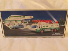 Hess Toy Emergency Truck - BOX ONLY - 1996 - EXC/NM - Petroleum
