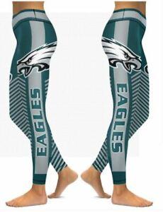 Philadelphia Eagles Small to 2X-Large Women's Leggings New