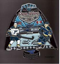MINOR HOCKEY PIN 3D  PEE-WEE QUEBEC INT.ST LOUIS BLUES STASTNY TARASENKO 2016